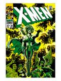 X-Men No51 Cover: Dane  Lorna and X-Men