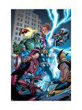 Marvel Adventures The Avengers 31 Cover: Thor