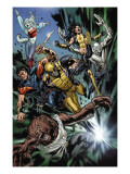 Uncanny X-Men No493 Group: Wolfsbane  Wolverine  X-23  Warpath  Hepsibah and Caliban