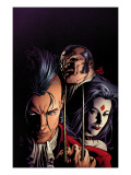 X-Men: Legacy No217 Cover: Shaw  Sebastian  Lady Sinister and Daken