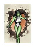 She-Hulk No1 Cover: She-Hulk