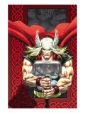 Thor: Blood Oath No6 Cover: Thor