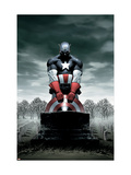 Captain America No4 Cover: Captain America