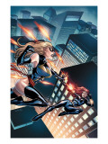 Black Widow & The Marvel Girls No3 Cover: Ms Marvel and Black Widow