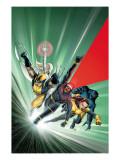 Astonishing X-Men No1 Cover: Cyclops  Shadowcat  Beast  Wolverine  Emma Frost and X-Men