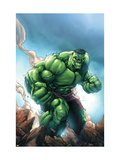 Marvel Age Hulk 1 Cover: Hulk