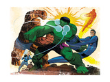 Fall of the Hulks: Gamma No1 Group: Hulk  Thing  Invisible Woman  Mr Fantastic and Human Torch