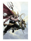 Loki No2 Cover: Thor and Loki