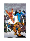 Fantastic Four Visionaries: George Perez Volume 1 Cover: Mr Fantastic