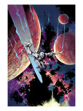 Silver Surfer: In They Name No3 Cover: Silver Surfer