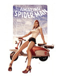 The Amazing Spider-Man 602 Cover: Mary Jane Watson