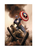 Captain America Theater Of War: America The Beautiful No1 Cover: Captain America
