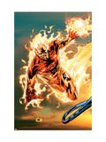 Ultimate Fantastic Four 54 Cover: Human Torch