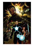 X-Men: Emperor Vulcan No1 Cover: Vulcan and Havok