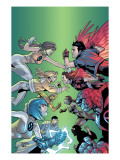 New X-Men No6 Cover: Wind Dancer  Surge  Hellion  Rock Slide  Dust  New X-Men and Hellions