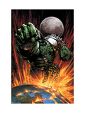 World War Hulk 1 Cover: Hulk Flying