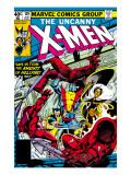 Uncanny X-Men No129 Cover: Wolverine  Colossus  Storm and X-Men