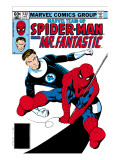 Marvel Team-Up No132 Cover: Spider-Man and Mr Fantastic