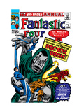 Fantastic Four Annual 2 Cover: Dr Doom