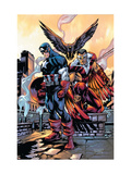 Captain America And The Falcon No10 Cover: Captain America and Falcon