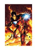 Invincible Iron Man No2 Cover: Iron Man