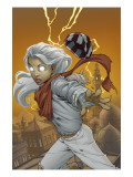 Ororo: Before The Storm No1 Cover: Storm Flying