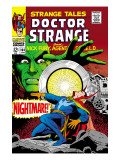 Strange Tales No164 Cover: Dr Strange and Yandroth