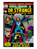 Marvel Premiere No3 Cover: Dr Strange