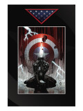 Fallen Son: The Death Of Captain America No4 Cover: Spider-Man Charging