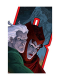 Avengers: Earths Mightiest Heroes No7 Cover: Quicksilver and Scarlet Witch