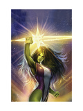 She-Hulk: Cosmic Collision No1 Cover: She-Hulk
