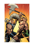 Incredible Hercules No113 Cover: Hercules and Ares