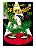 The Amazing Spider-Man No63 Cover: Vulture Flying