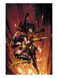 New X-Men No45 Cover: X-23 and Lady Deathstrike