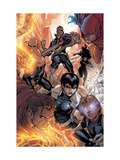 Avengers: The Initiative No16 Group: Nick Fury  Phobos  Yo-Yo  Hellfire  Druid  Stonewall & Quake