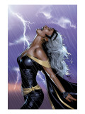 Uncanny X-Men No449 Cover: Storm Swinging