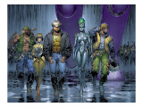 New X-Men No152 Group: Wolverine  Beak  Nova  Cassandra and EVA