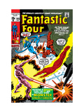 Fantastic Four No105 Cover: Mr Fantastic