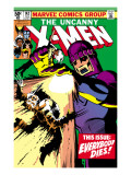 Uncanny X-Men No142 Cover: Wolverine and Sentinel