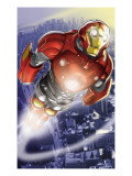Ultimate Iron Man II No3 Cover: Iron Man