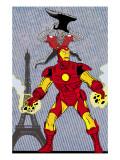 X-Statics No24 Cover: Iron Man and Mr Sensitive