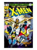 Uncanny X-Men No126 Cover: Wolverine  Colossus  Storm  Cyclops  Nightcrawler and X-Men Fighting