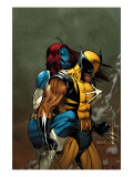 Wolverine 62 Cover: Wolverine and Mystique