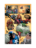 Marvel Adventures The Avengers No14 Group: Captain America