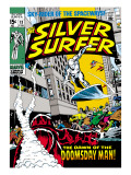 Marvel Comics Retro: Silver Surfer Comic Book Cover No13