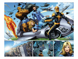 Nova No21 Group: Nova  Mr Fantastic  Invisible Woman  Thing and Human Torch