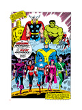 Giant-Size Avengers 1 Group: Iron Man