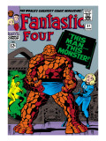 Marvel Comics Retro: Fantastic Four Family Comic Book Cover No51