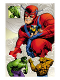 Marvel: Monsters On The Prowl No1 Group: Hulk  Thing  Giant Man and Beast