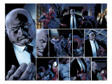 Ultimate Spider-Man No110 Headshot: Spider-Man  Daredevil  Kingpin  and Vanessa Fisk Fighting
